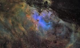 Messier 16 l'aigle