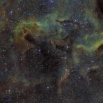 Région dans la constellation du Cygne