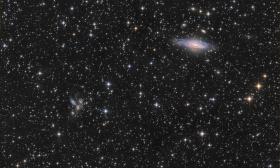 Ngc 7331 et le Quintette de Stephan