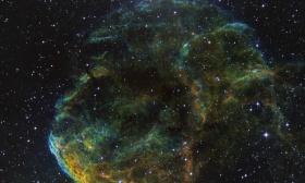 La nébuleuse de la méduse IC 443