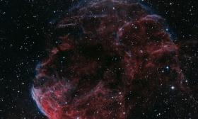 La nébuleuse de la méduse IC 443 en Lhoo