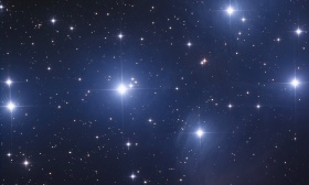 L'amas ouvert des Pléiades M45