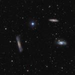 Trio du Lion M65-66 et ngc 3628