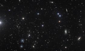 Groupe de galaxies dans la vierge autour de Ngc 4411